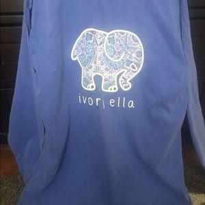 84e322b65 Ivory Ella long sleeve shirt